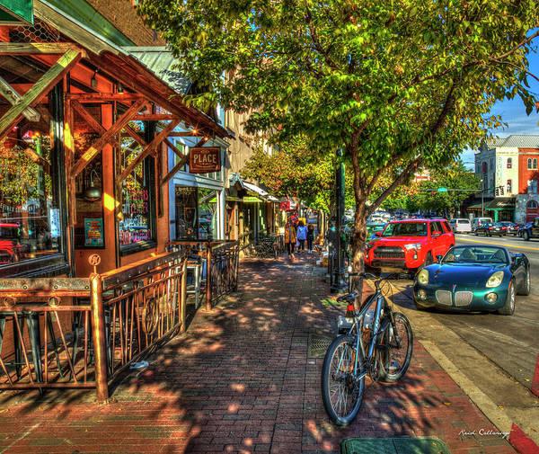 Photograph - College Town Athens Georgia Downtown Uga Athens Georgia Art by Reid Callaway