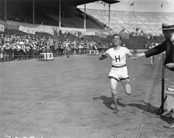 1923 Photograph - Athletics by Topical Press Agency