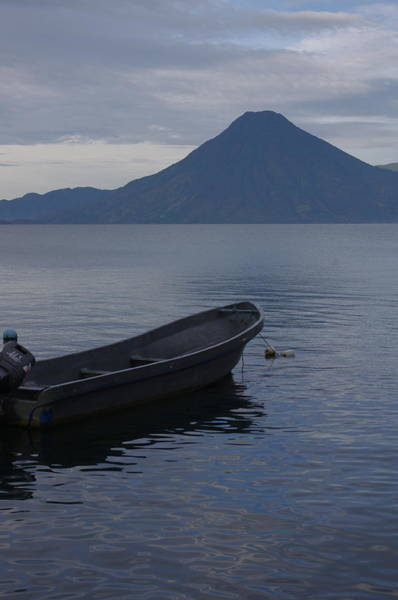 Photograph - Atitlan At Dusk by Adam Reinhart