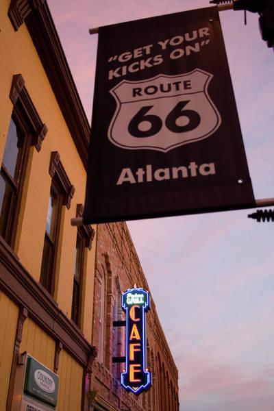 Photograph - Atlanta 66 Kicks by Dylan Punke