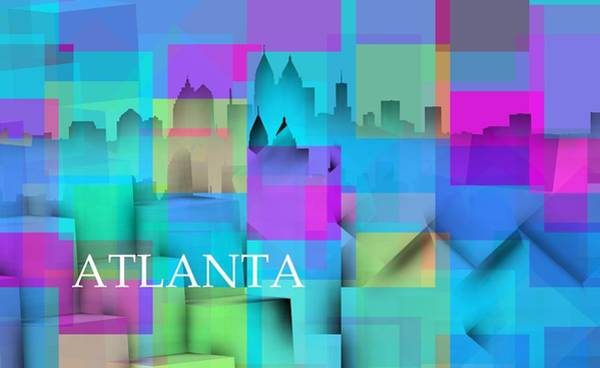 Digital Art - Atlanta by Alberto RuiZ