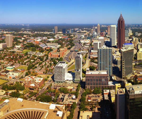 Southern Usa Photograph - Atlanta Downtown, Georgia, Usa by Moreiso