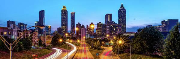 Wall Art - Photograph - Atlanta Georgia Skyline Panorama by Gregory Ballos