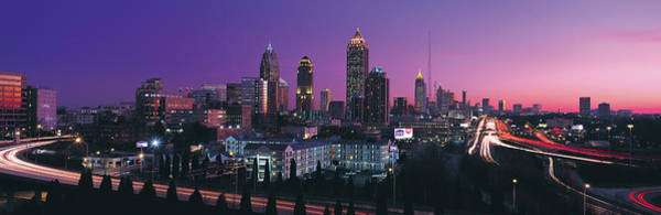 Wall Art - Photograph - Atlanta In Evening by Jeremy Woodhouse