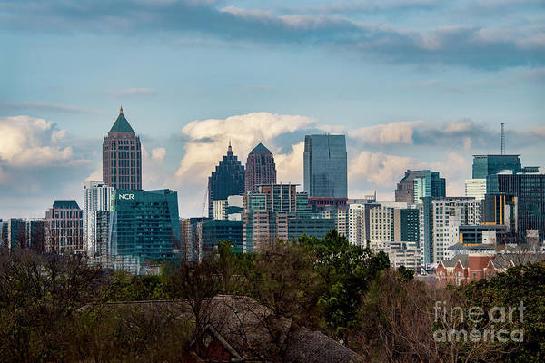 Photograph - Atlanta Skyline 2 by Mae Wertz