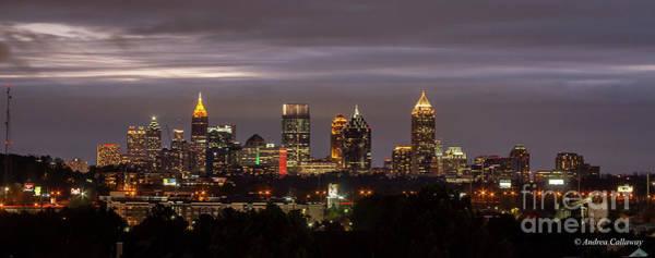 Georgia Power Company Photograph - Capital Of The South Atlanta Skyline Cityscape Art by Andrea Callaway