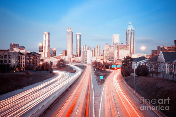 Wall Art - Photograph - Atlanta Skyline, Georgia, Usa by Nickolay Khoroshkov