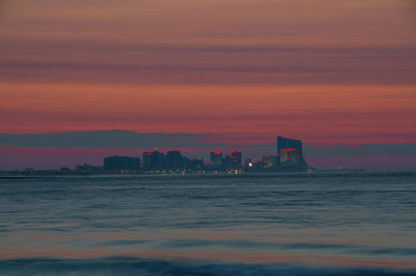 Photograph - Atlantic City Before Dawn by Bill Cannon