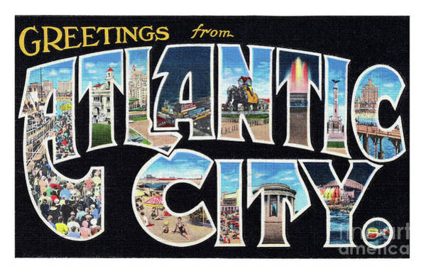 Photograph - Atlantic City Greetings #2 by Mark Miller