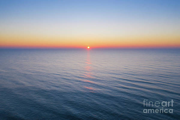 Wall Art - Photograph - Atlantic Ocean Sunrise  by Michael Ver Sprill