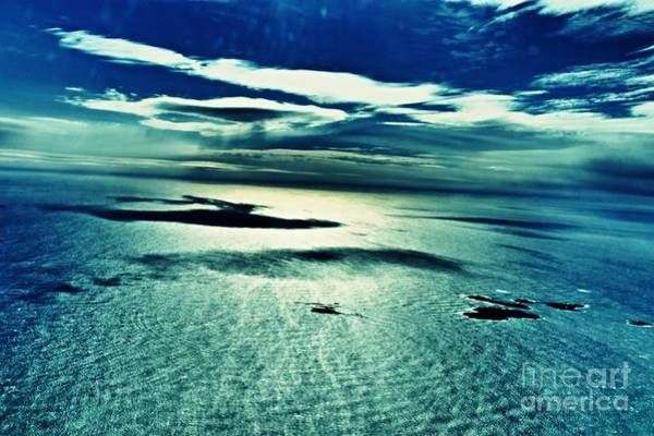 Wall Art - Photograph - Atlantic Ocean With Islands And Clouds by Sarah Loft