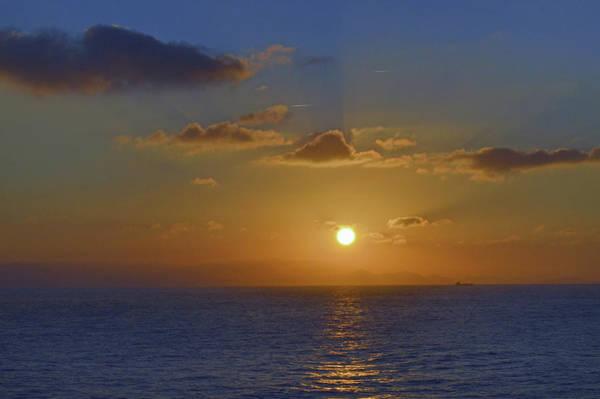 Wall Art - Photograph - Atlantic Sundown. by Terence Davis