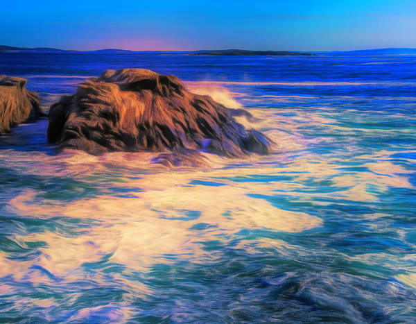 Digital Art - Atlantic Waves by Dan Sproul