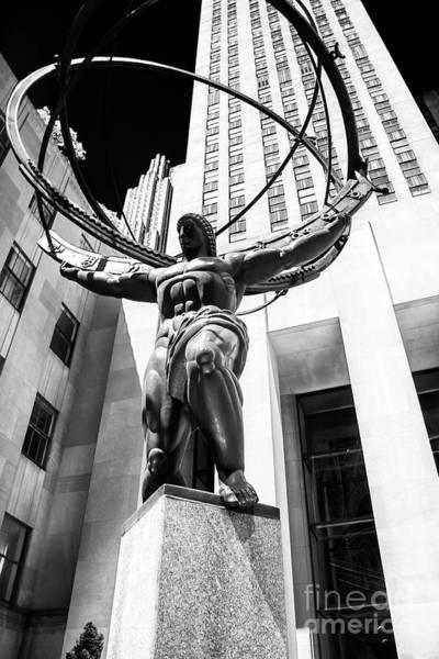 Photograph - Atlas Angles 2006 New York City by John Rizzuto