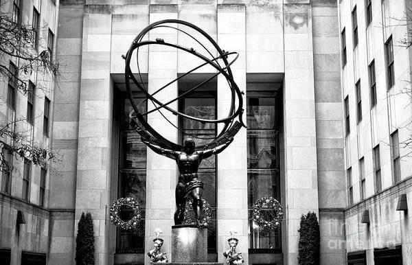 Photograph - Atlas On 5th Avenue New York City by John Rizzuto