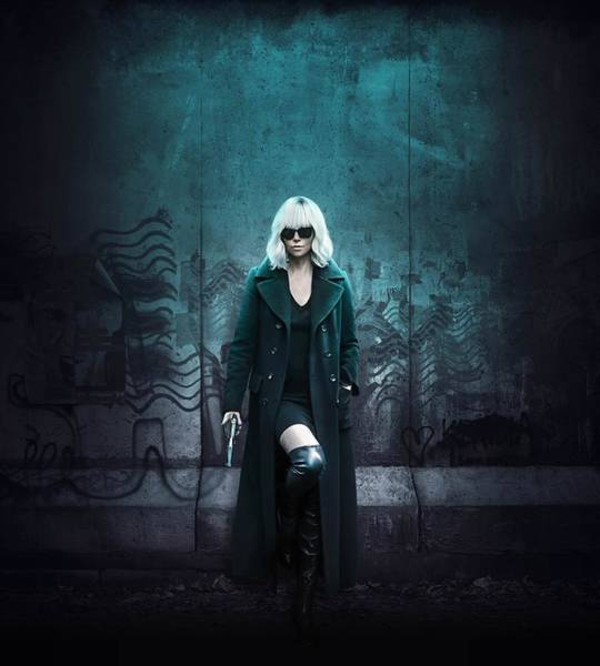 Wall Art - Digital Art - Atomic Blonde by Geek N Rock