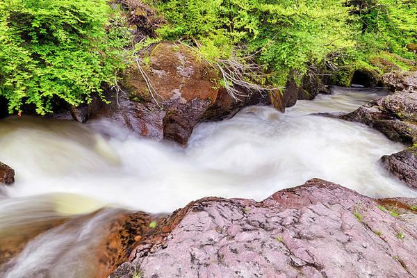 Photograph - Atop Buchanty Spout Waterfall - Crieff - Perthshire Scotland by Jason Politte