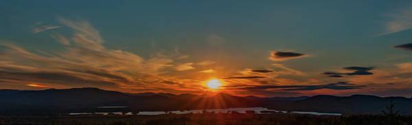 Photograph - Attean Pond Sunset by Rick Hartigan