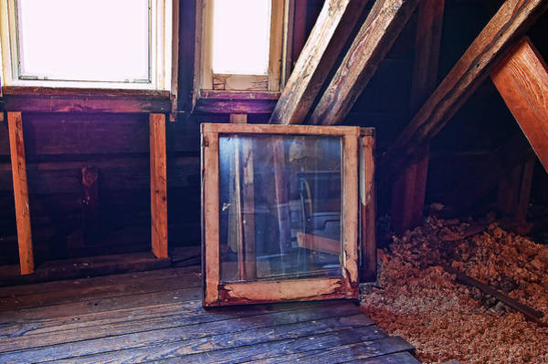 Photograph - Attic #1 by Mark Jordan
