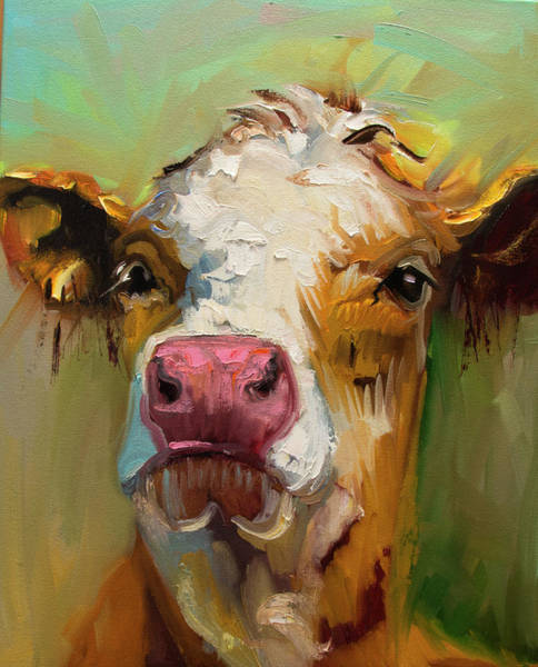 Wall Art - Painting - Attitude by Diane Whitehead