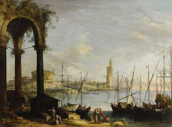 Wall Art - Painting - Attributed To Michele Marieschi - Venice by Celestial Images
