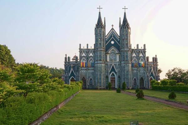 Karnataka Photograph - Attur Church by Desmond Lobo