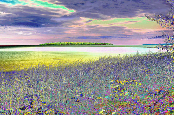 Au Train Island Lake Superior Michigan Art Print