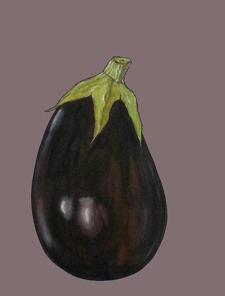 Engels Painting - Aubergine by Sarah Thompson-engels