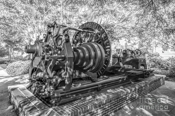 Photograph - Auburn University The Lathe by University Icons