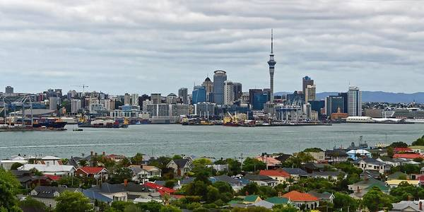 Photograph - Auckland Skyline by KJ Swan