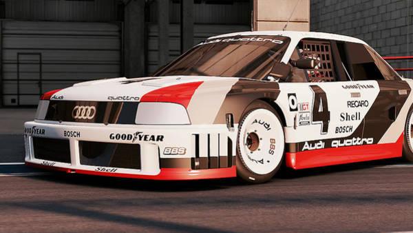 Photograph - Audi 90 Quattro Imsa Gto - 60 by Andrea Mazzocchetti