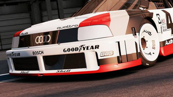 Photograph - Audi 90 Quattro Imsa Gto - 62 by Andrea Mazzocchetti