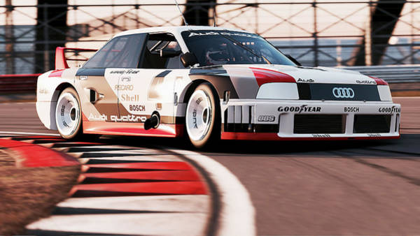 Photograph - Audi 90 Quattro Imsa Gto - 64 by Andrea Mazzocchetti