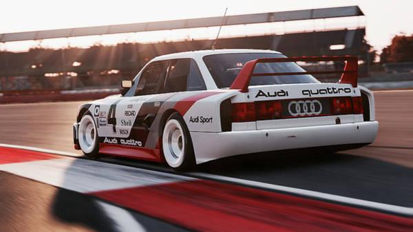 Photograph - Audi 90 Quattro Imsa Gto - 66 by Andrea Mazzocchetti