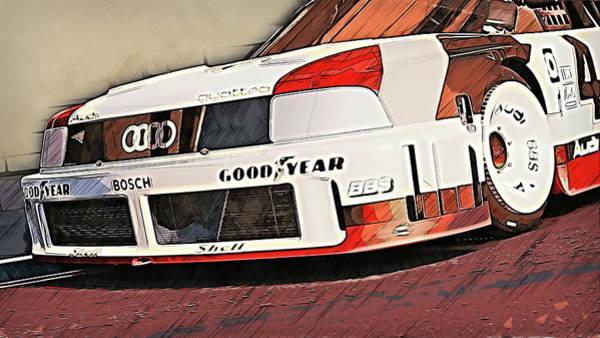 Painting - Audi 90 Quattro Imsa Gto - 70 by Andrea Mazzocchetti