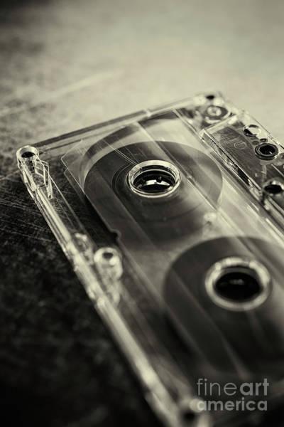 Photograph - Audio Cassette by David Lichtneker