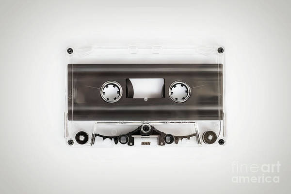 Wall Art - Photograph - Audio Cassette by Delphimages Photo Creations