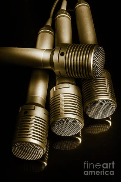 Microphone Photograph - Audio Classics by Jorgo Photography - Wall Art Gallery