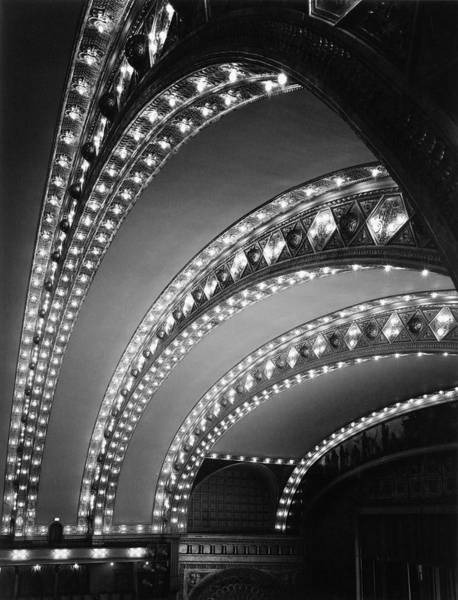 Chicago Photograph - Auditorium Theater In Chicago by Chicago History Museum