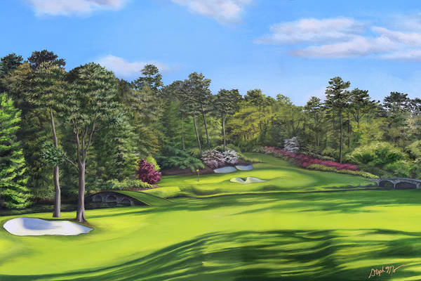 Painting - Augusta National by Steph Moraca