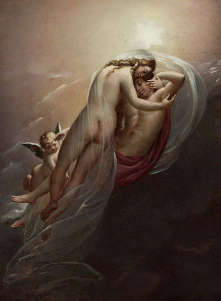 Wall Art - Painting - Aurora And Cephalus, 1810 by Anne-Louis Girodet de Roucy-Trioson