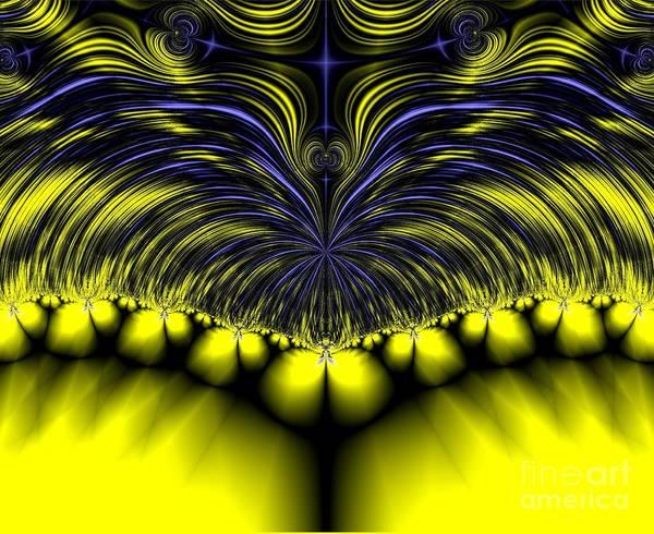 Digital Art - Aurora Borealis Dreams Fractal 58 by Rose Santuci-Sofranko