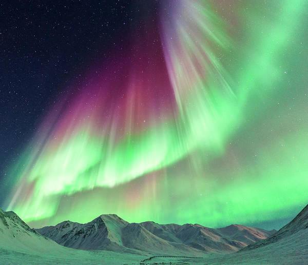 Wall Art - Photograph - Aurora Borealis In Alaska by Noppawat Tom Charoensinphon