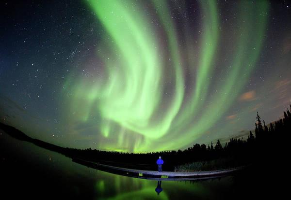 Yellowknife Wall Art - Photograph - Aurora Borealis In Canada by Dave Brosha Photography