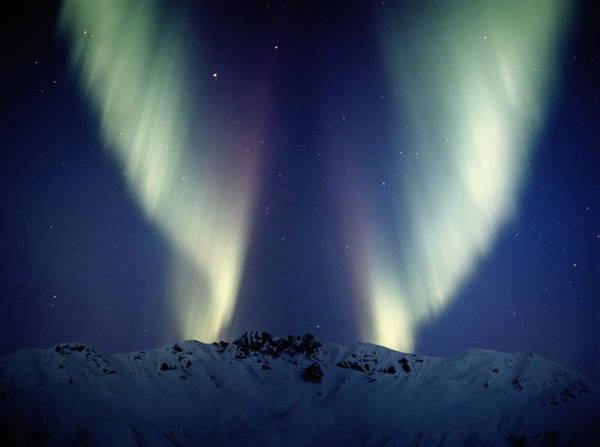 Alaska Photograph - Aurora Borealis Northern Lights, Alaska by Johnny Johnson