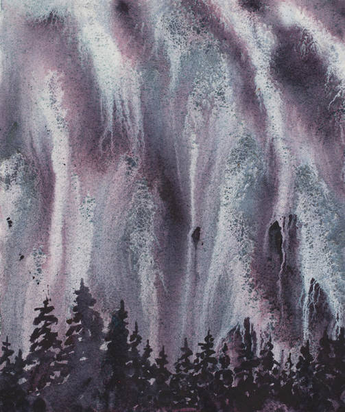 Experiment Painting - Aurora by Mary Giacomini