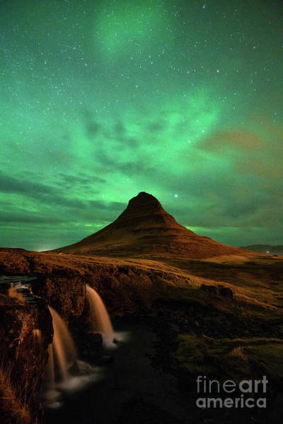 Wall Art - Photograph - Aurora Mountain by Jamie Pham