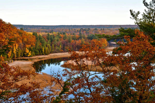 Manistee National Forest Wall Art - Photograph - Ausable River by Michael Peychich