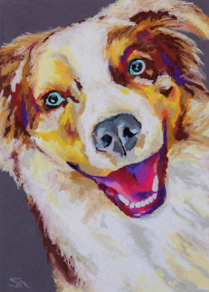 Wall Art - Painting - Aussie by Stephen Anderson