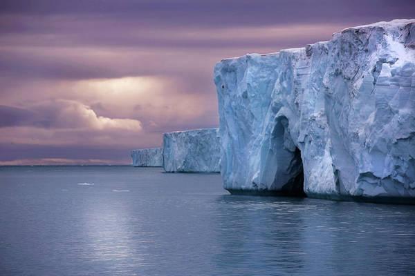 Island Life Wall Art - Photograph - Austfonna Ice Cap by Chase Dekker Wild-life Images